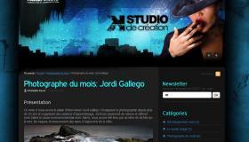 Entrevista en web francès.